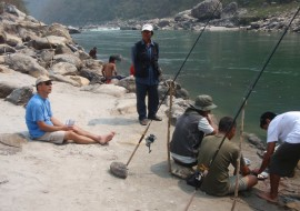 Fishing and Rafting Tour (Add On)