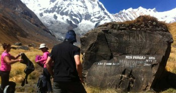 Annapurna Base Camp Trek 2014