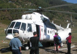Everest Base Camp Heli Tour and Trek