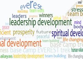 Base Camp Everest trek leadership development and events celebrations