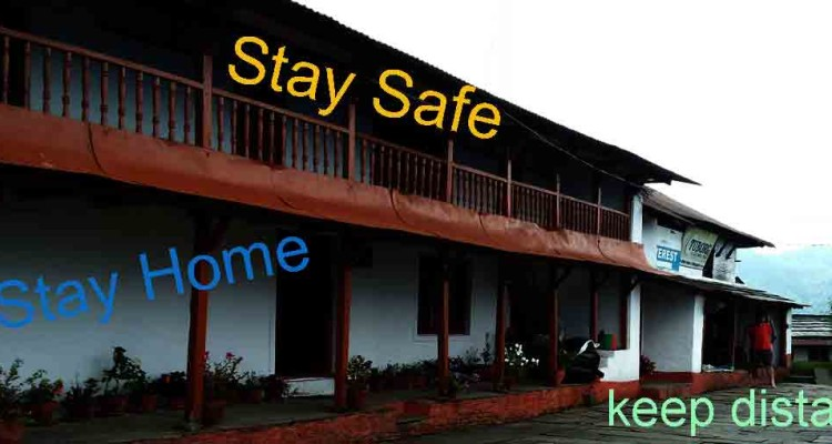 Covid-19 Stay Safe Home